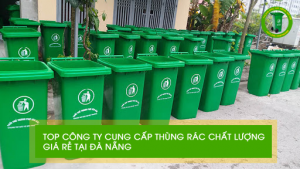 Đa dạng các loại thùng rác tại Hải Châu