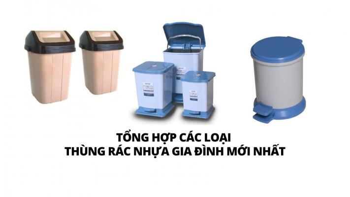 Thùng đựng rác có nắp là gì?