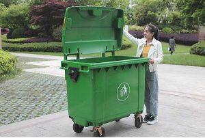 Sử dụng thùng rác công nghiệp là nhu cầu cần thiết tại các kho xưởng