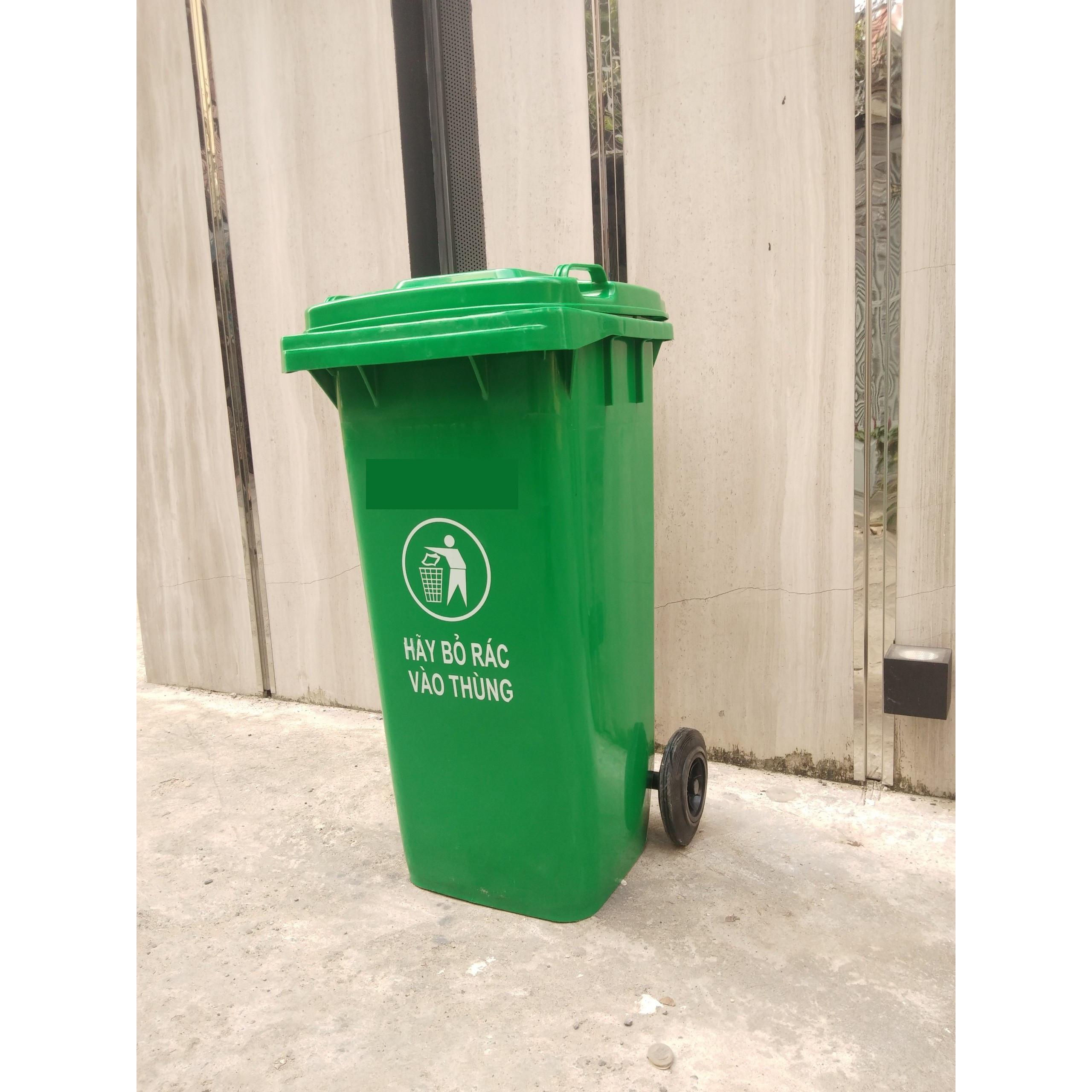 Ưu Điểm Của Thùng Rác Nhựa Xanh HDPE 120L